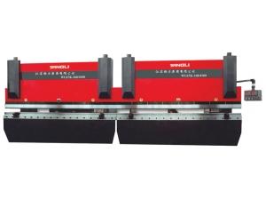 2-WC67K系列双机联动经济型数控液压板料折弯机
